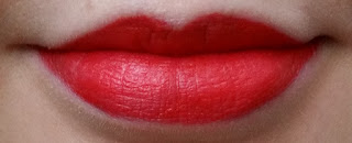 Avon Perfectly Matte Lipstick in Coral Fever