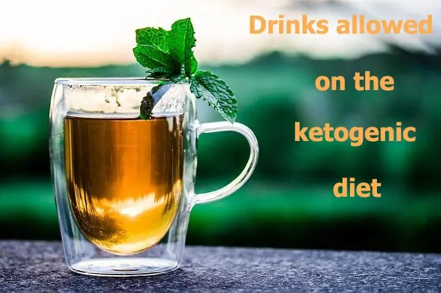 Drinks allowed on the ketogenic diet