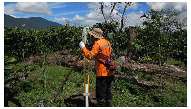 biaya pemetaan tanah & topografi Papua