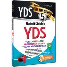 Yargı Yayınevi YDS Akademik Cümlelerle YDS-TOEFL-IELTS-FCE Altın Seri 5