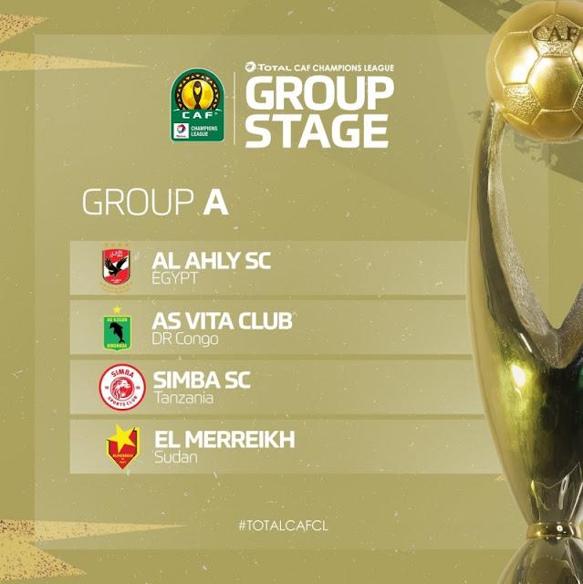 مجموعة الأهلى فى دورى أبطال أفريقيا 2021