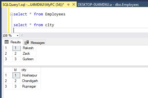 MS SQL JOINS