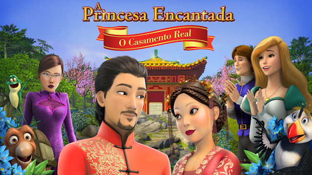 A Princesa Encantada – O Casamento Real