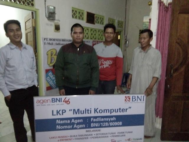 Kerjasama LKP Multi Komputer dan Bank BNI