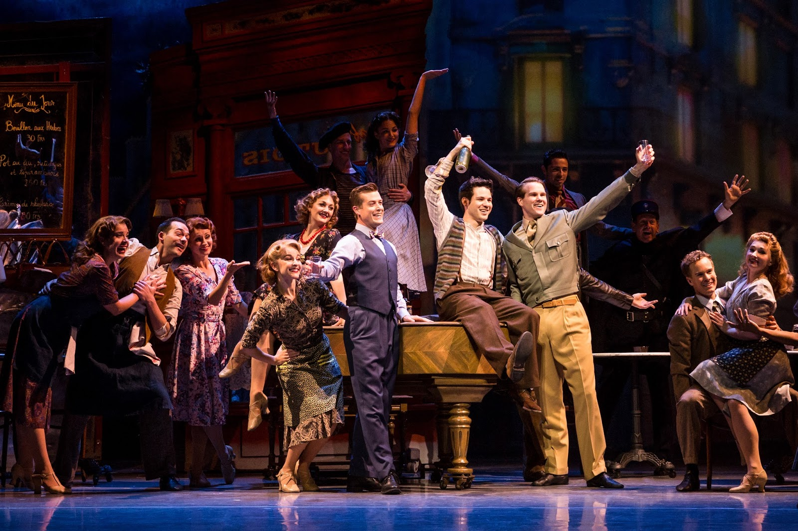 ChiIL Mama : REVIEW: American in Paris Charms With Iconic