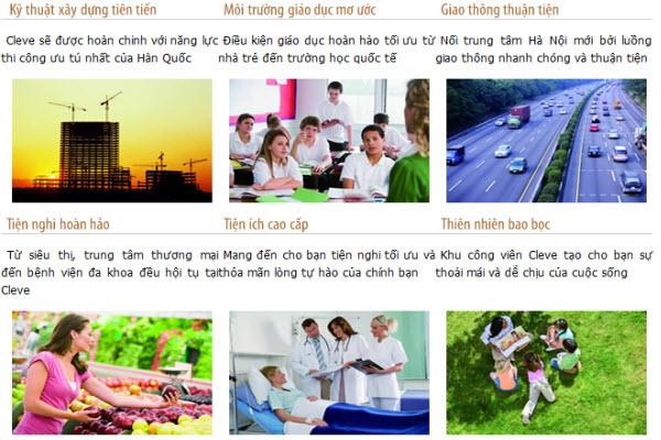 Chuỗi tiện ích cao cấp tại dự án Ble Air Từ Liêm Hà Nội