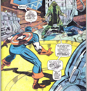 Giant-Size Avengers #1 Whizzer Captain America