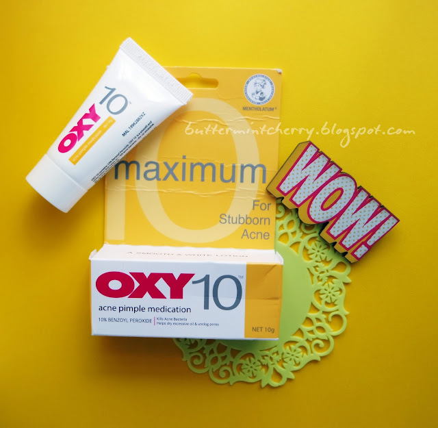 [REVIEW] OXY 10 (Acne Pimple Medication) Obat Jerawat