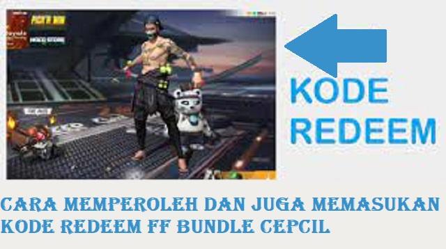Kode Redeem FF Bundle Cepcil