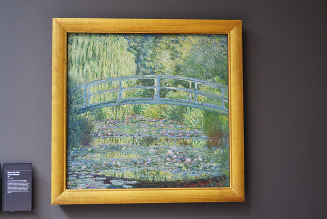 Ponte giapponese di Monet, museo d'Orsay