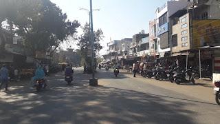 पेटलावद नगर में किसान आंदोलन को नहीं मिला समर्थन