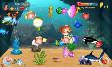 Fish live android games for Fish live game