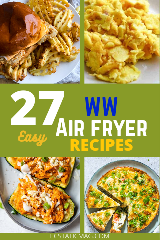 27 Best Weight Watchers Air Fryer Recipes with Point for Healthy Meal Prep