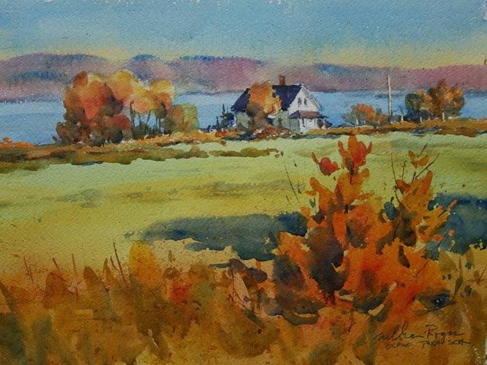Современный канадский художник. William Rogers