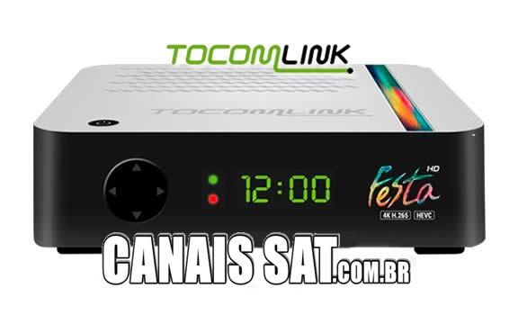 Tocomlink Festa HD Atualização V1.84 - 12/11/2020