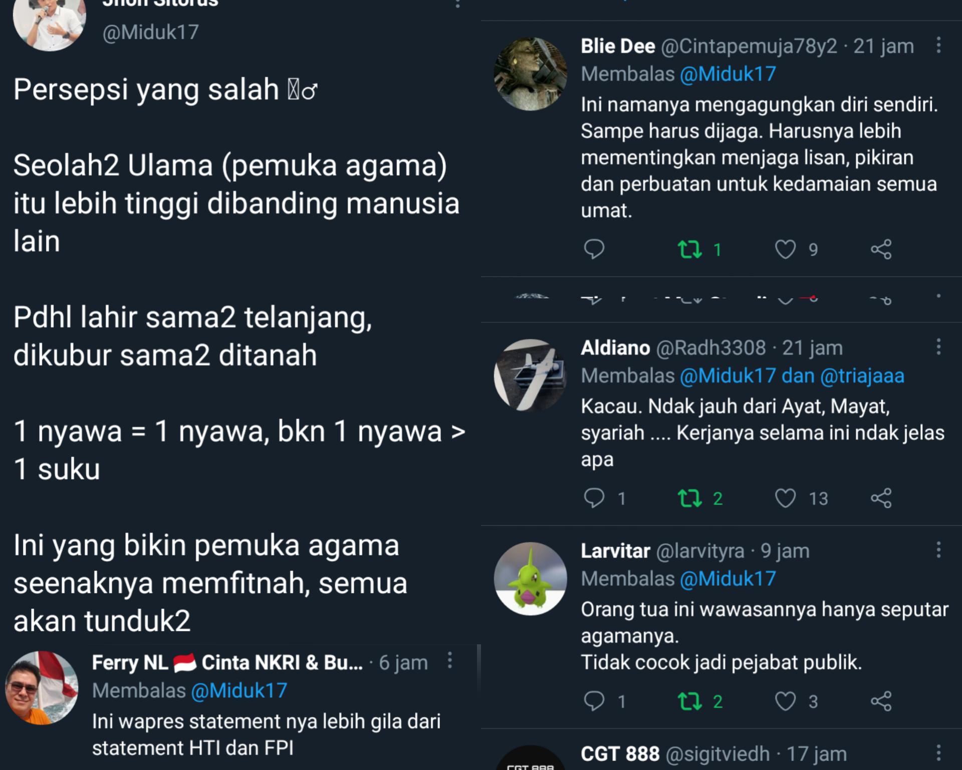 Netizen Kecam Pernyataan Ma'ruf Amin Soal Ini: Lebih Parah dari Statement FPI & HTI!