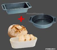 Logo Stoneline Lotteria : vinci gratis un set per la cottura del pane