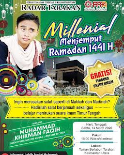 Milenial Menjemput Ramadhan - Kajian Islam Tarakan