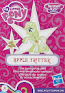 My Little Pony Wave 17 Apple Fritter Blind Bag Card