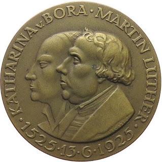 Martin Luther und Katharina von Bora 1925