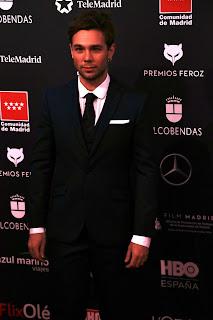 Carlos Cuevas en los Premios Feroz 2020