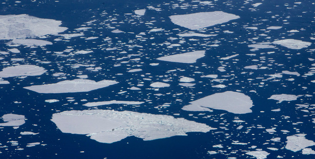 Climate experts says half of Arctic sea ice decline due to natural causes : Qinghua Ding from the University of California