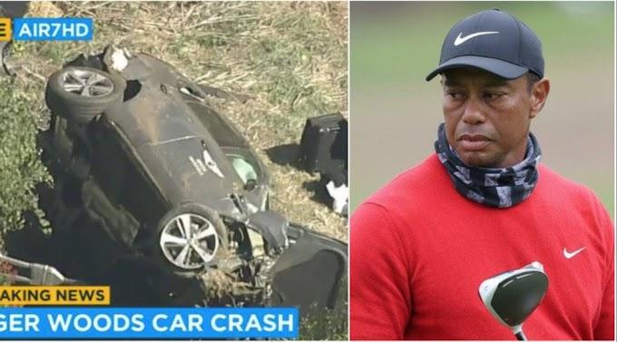 Tiger Woods si schianta con la sua auto: operazione alle gambe