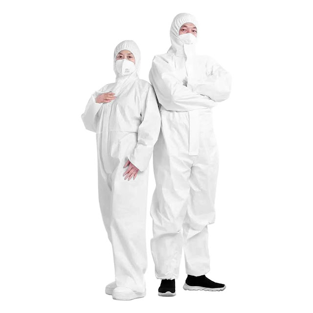 Medical Protective Clothing Suppliers Disposable Protective Suit Waterproof Coveralls Safety Suit Manufacturer Supplier Wholesale