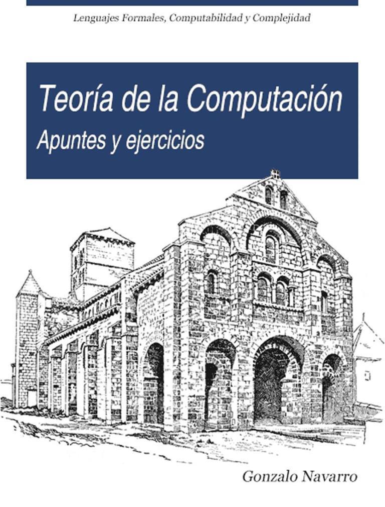 Teoría de la computación: Apuntes y ejercicios