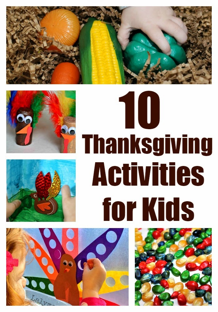 10 thanksgiving crafts and activities for kids for Thanksgiving activities for toddlers