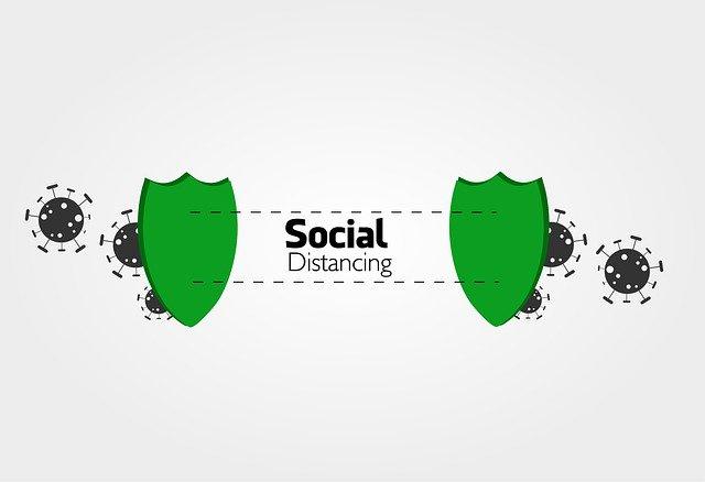 Social distancing tak mudah di kantor
