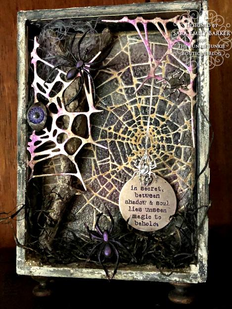 Sara Emily Barker https://sarascloset1.blogspot.com/2020/09/between-shadow-and-soul-spooky-vignette.html Mixed Media Tutorial 12