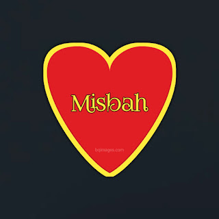 Misbah Name DP Images