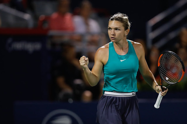 Rogers Cup 2018 Simona Halep trece de Caroline Garcia și este în semifinale Simona Halep vs. Caroline Garcia 2018 Rogers Cup Quarterfinals WTA Highlights wta youtube rezumat video simona halep caroline garcia rogers cup 2018 halep vs garcia coupe rogers 2018 youtube highlights