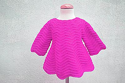 6 - Crochet Imagenes Mangas para vestido rojo navidad a crochet y ganchillo por Majovel Crochet