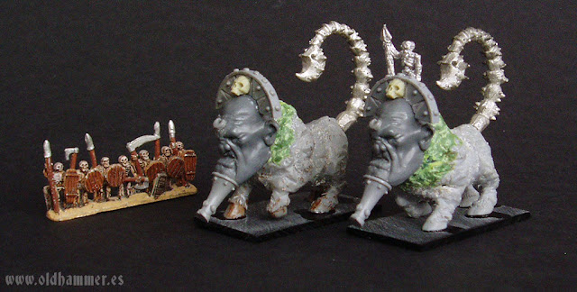 warmaster undead scratch sphinx conversion esfinge proxy 10mm