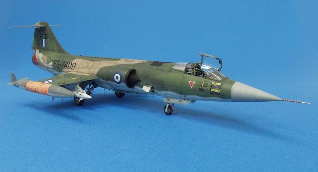Thomas Workbench F 104 G Starfighter Hellenic Air Force