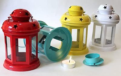iHandiKart Handicrafts Hanging Lantern Decorative Tea Light Holder to Decorate Your Home
