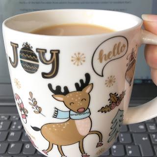 Nanowrimo Week 1 Christmas Mug