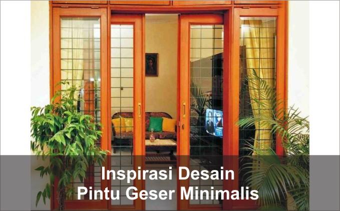 model pintu geser minimalis