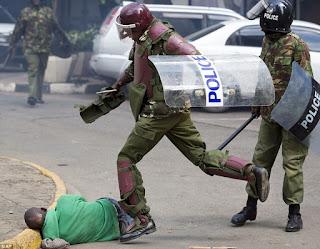 Kenyan politica Chaos. PHOTO | AFP