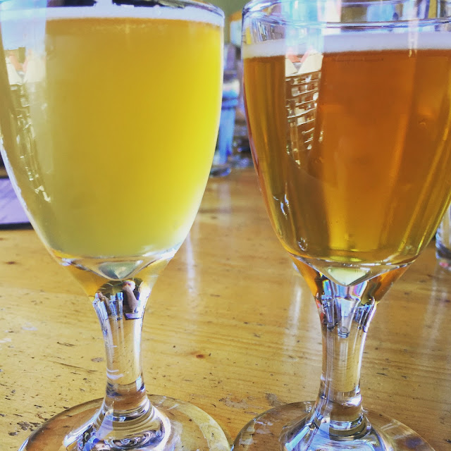Figaro Sour and Apple Crisp Sour from the Cascade Brewing House of Sours in PDX