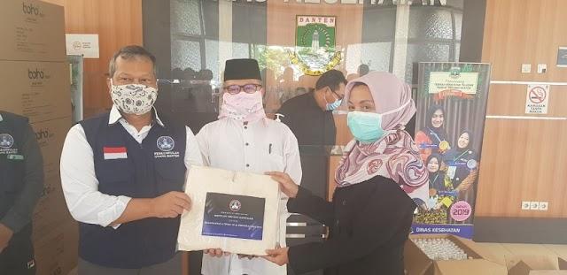 Gugus Tugas Covid-19 Banten, Kembali Terima Bantuan APD