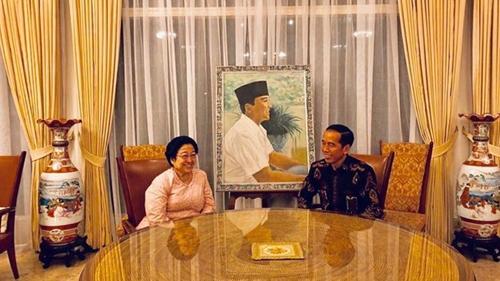Jokowi Temui Megawati di Tengah Isu Reshuffle Kabinet