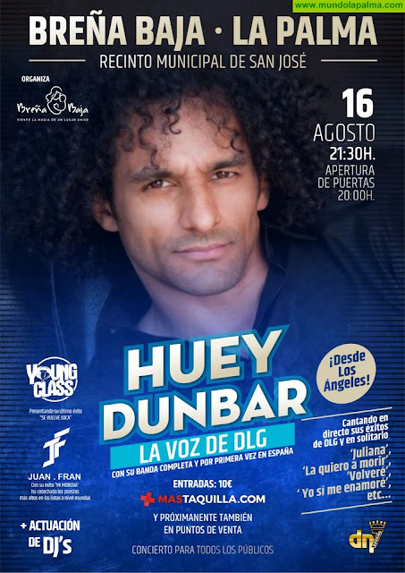 BREÑA BAJA: Concierto de Huey Dunbar