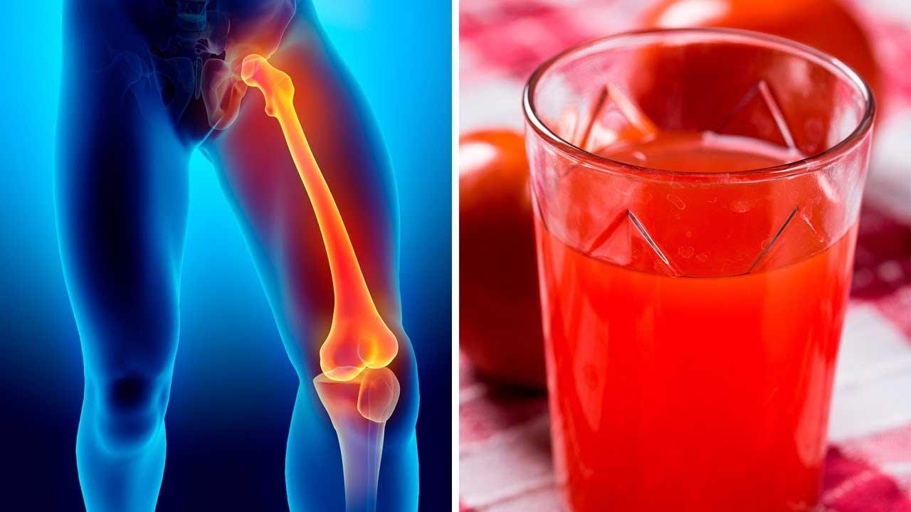 Jus pour renforcer les os et stimuler le corps