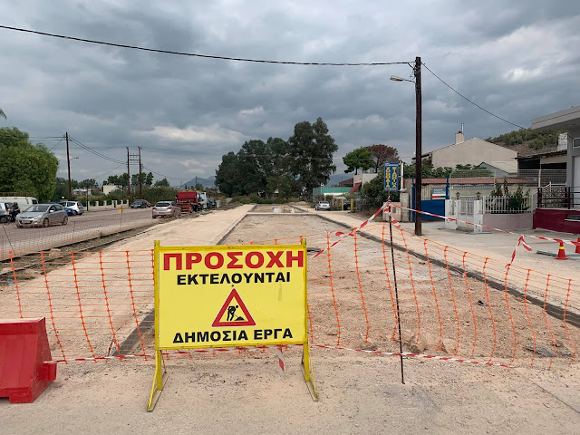 Δ. Κωστούρος: Ξεκίνησε η αναπλαση της οδού Αιγίου στο Ναύπλιο