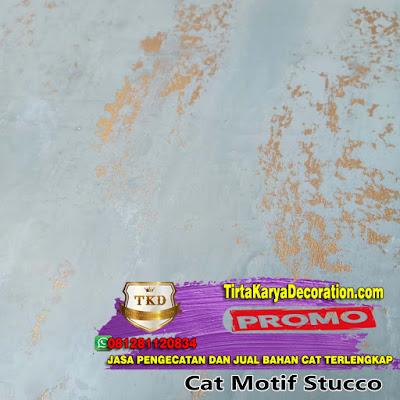 √ TERBAIK - JASA CAT MOTIF STUCCO