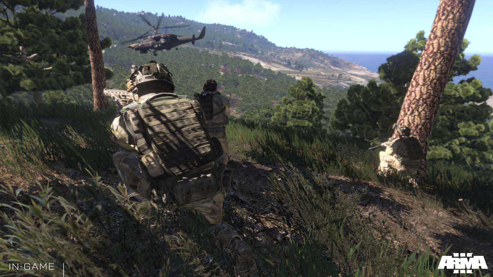 تحميل لعبة Arma 3 مضغوطة برابط واحد مباشر كاملة مجانا