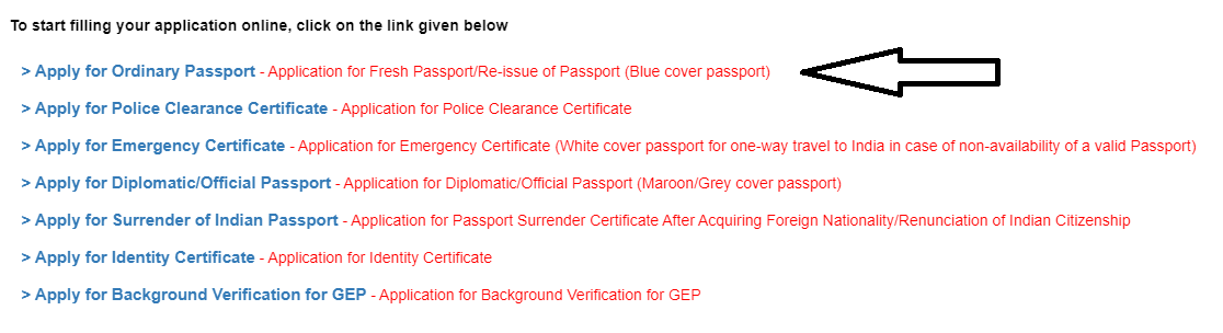 Ordinary Passport Canada, Re-issue of indian passport in canada